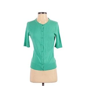 Green Merona Cardigan